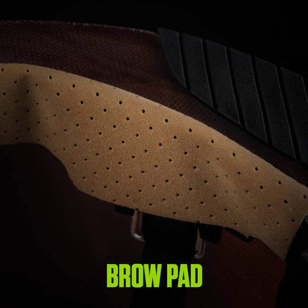 DAX FIFTY 50 CARBON FIBER FULL BRIM HARDHAT brow pad